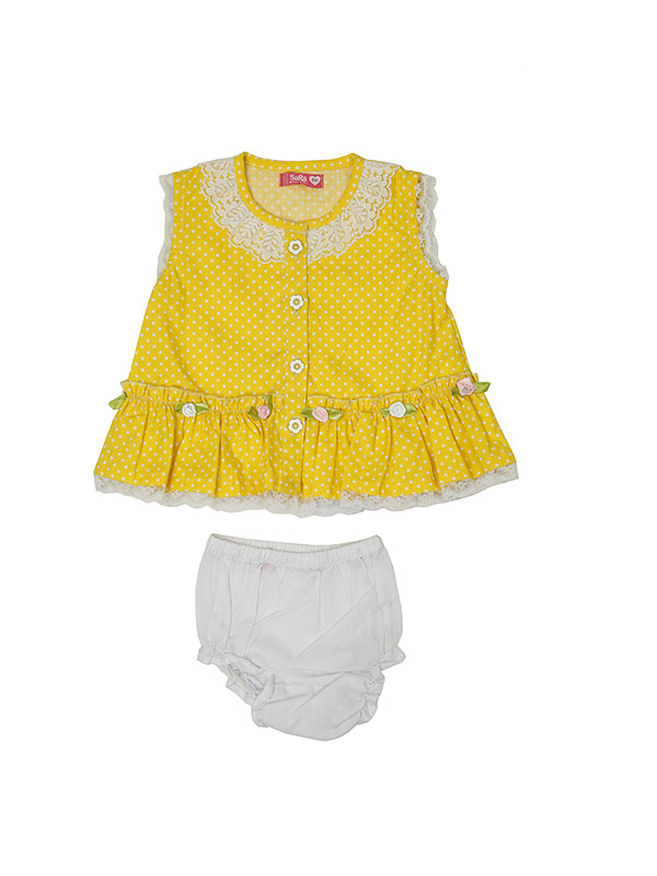 KIDS GIRLS' FROCK AND PANT