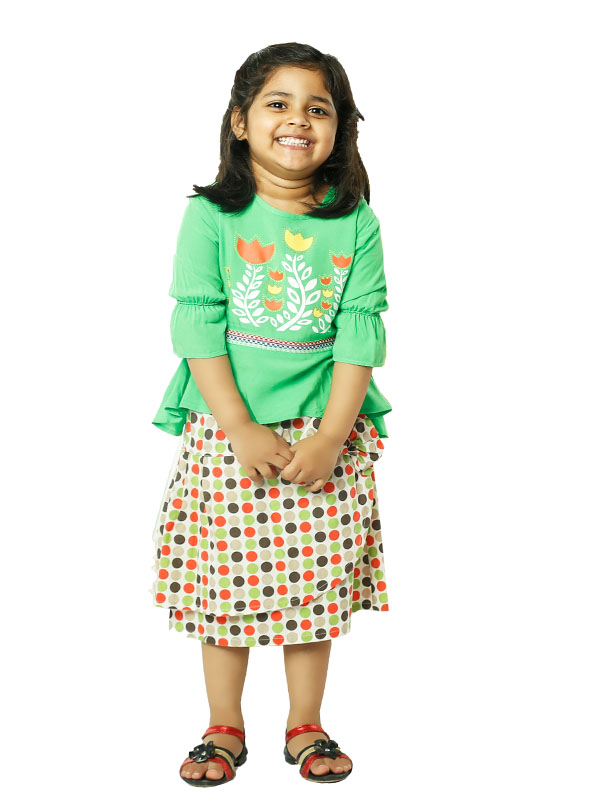 KIDS GIRL'S FROCK & SKIRT