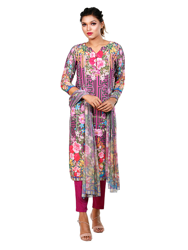 Ladies Lawn 3 Pcs