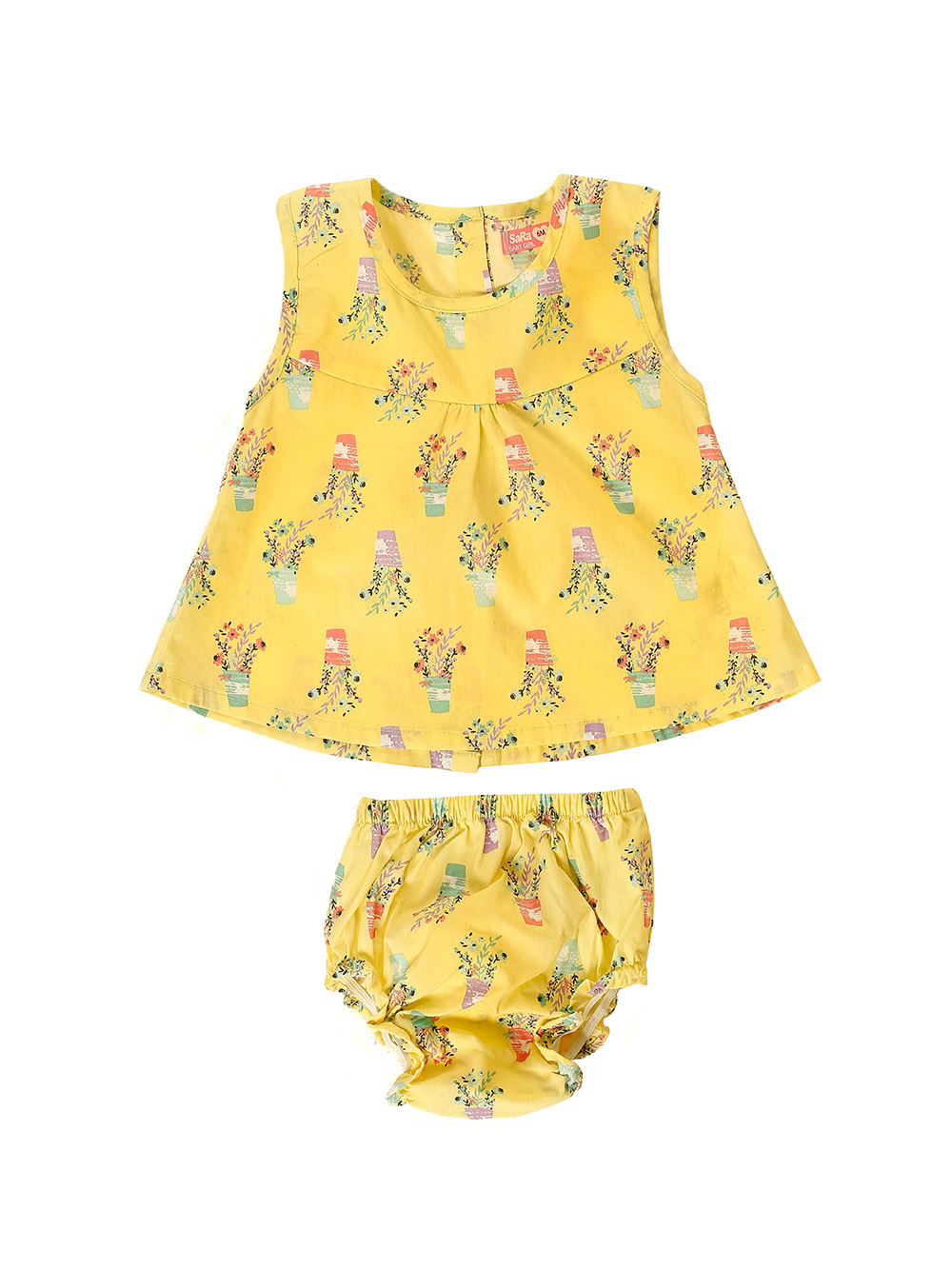 GIRL'S FROCK & PANT